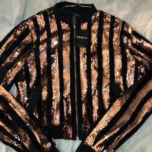 Forever 21 sequence jacket